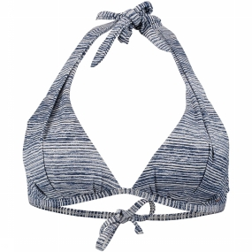 O'Neill Bh Pw Print Moulded Halter voor dames - Donkerblauw