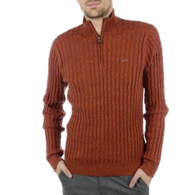 Pullover Loup Cable