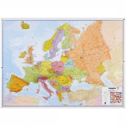 Map Europe Political