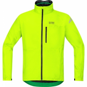 Gore Bike Wear Jas Element Gore-tex Geel