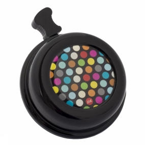 Bicycle Bell Colour Bell Polka Dots Mix Black