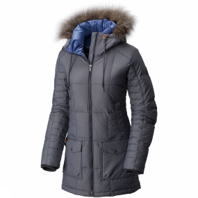 Della Fall Mid Insulated Hooded Jas Dames