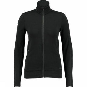 Dia LS Zip Fleece Dames