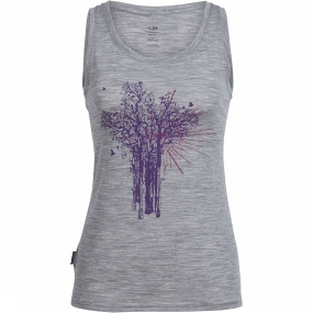 Tech Lite Shine Tank Top Dames