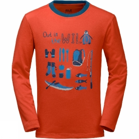 Out in the Wild Longsleeve Shirt Junior