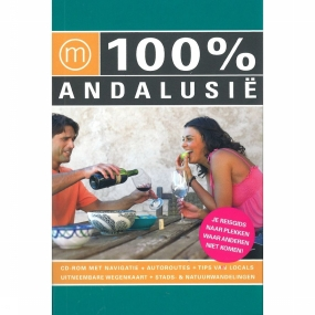 Reisgids 100% Andalusië + CD-rom