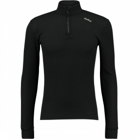 ODLO WARM Hemd black