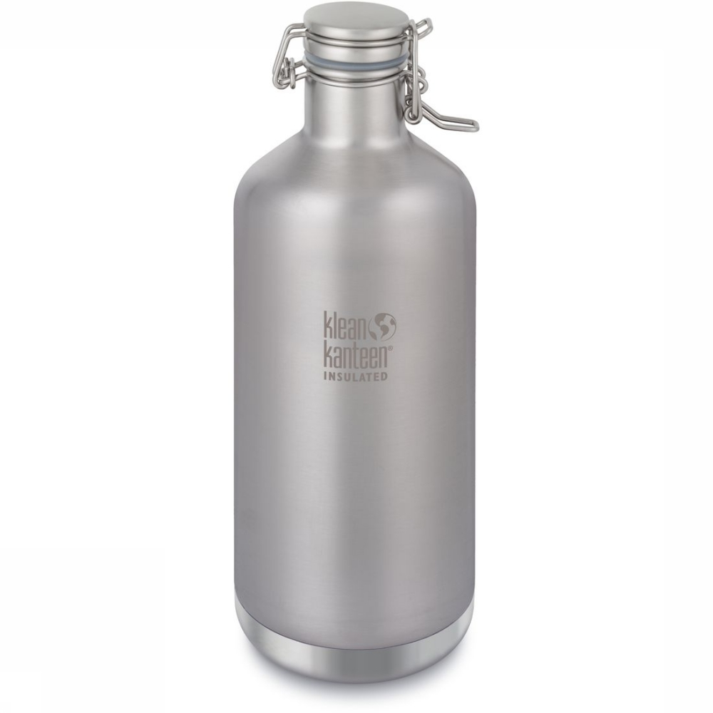 Klean Kanteen Bouteille Isolante Vacuum Insulated Growler 64oz - Gris