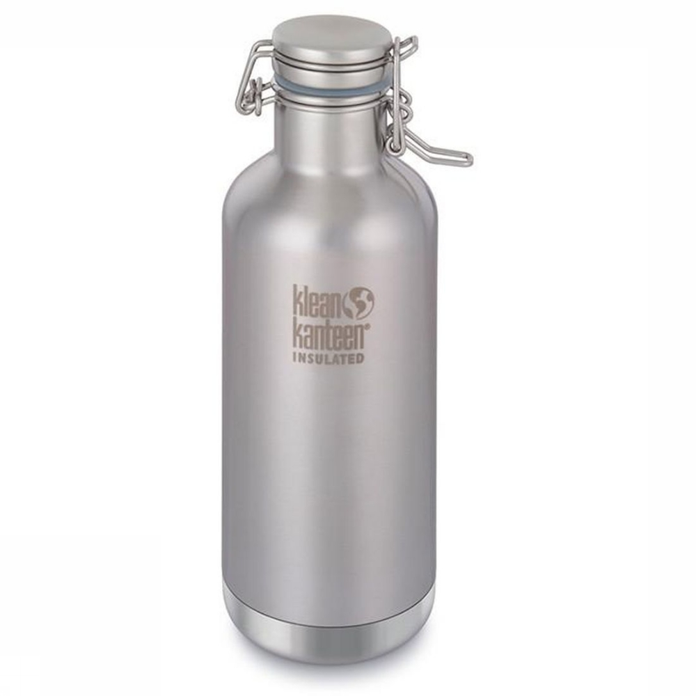 Klean Kanteen Bouteille Isolante Growler Vacuum Insulated 32oz 946ml - Argent
