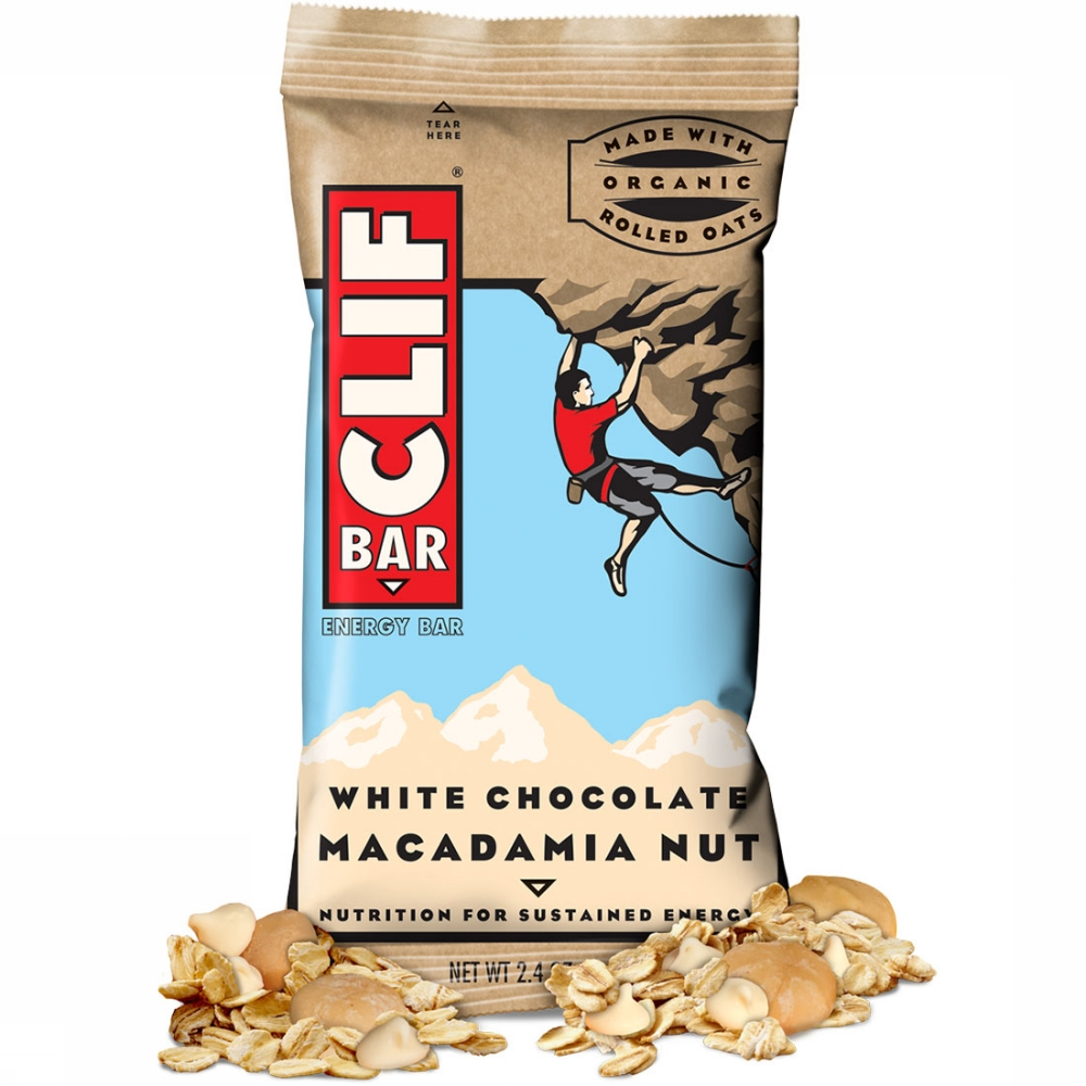 Je bent hier: > Clif Bar White Chocolate Macadamia Nut Energiereep