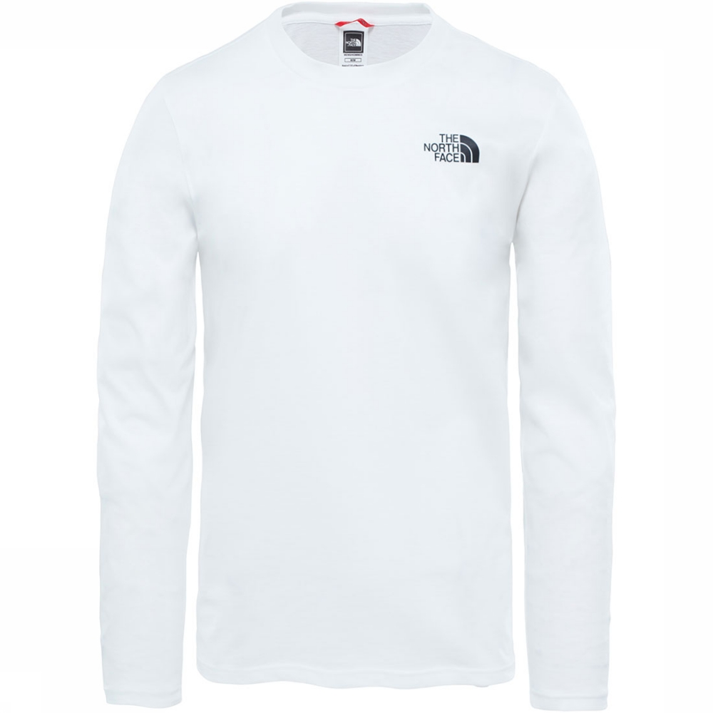 Afbeelding van The North Face L/S Easy T-shirt Wit