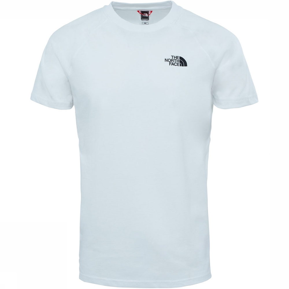 Afbeelding van The North Face The North Faces T-shirt Wit/Zwart