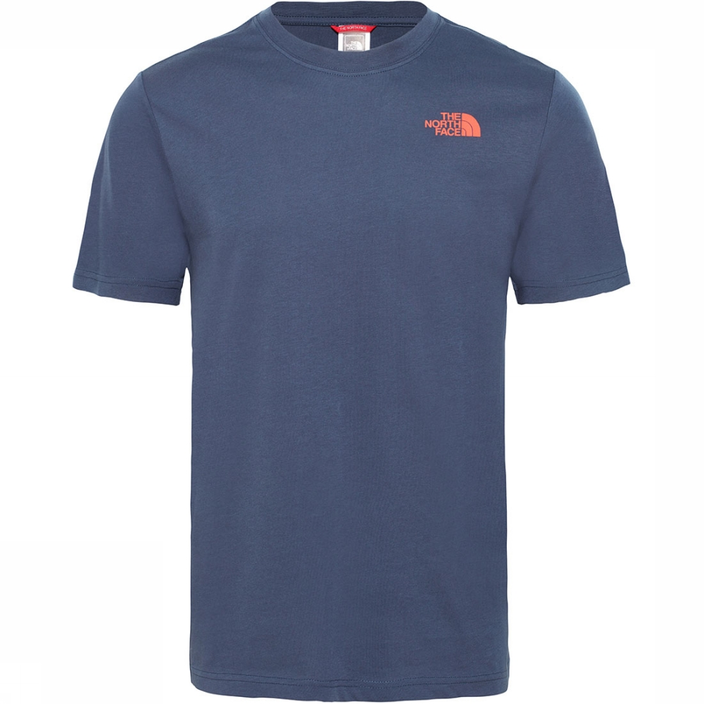 Afbeelding van The North Face Red Box T-shirt Blauw