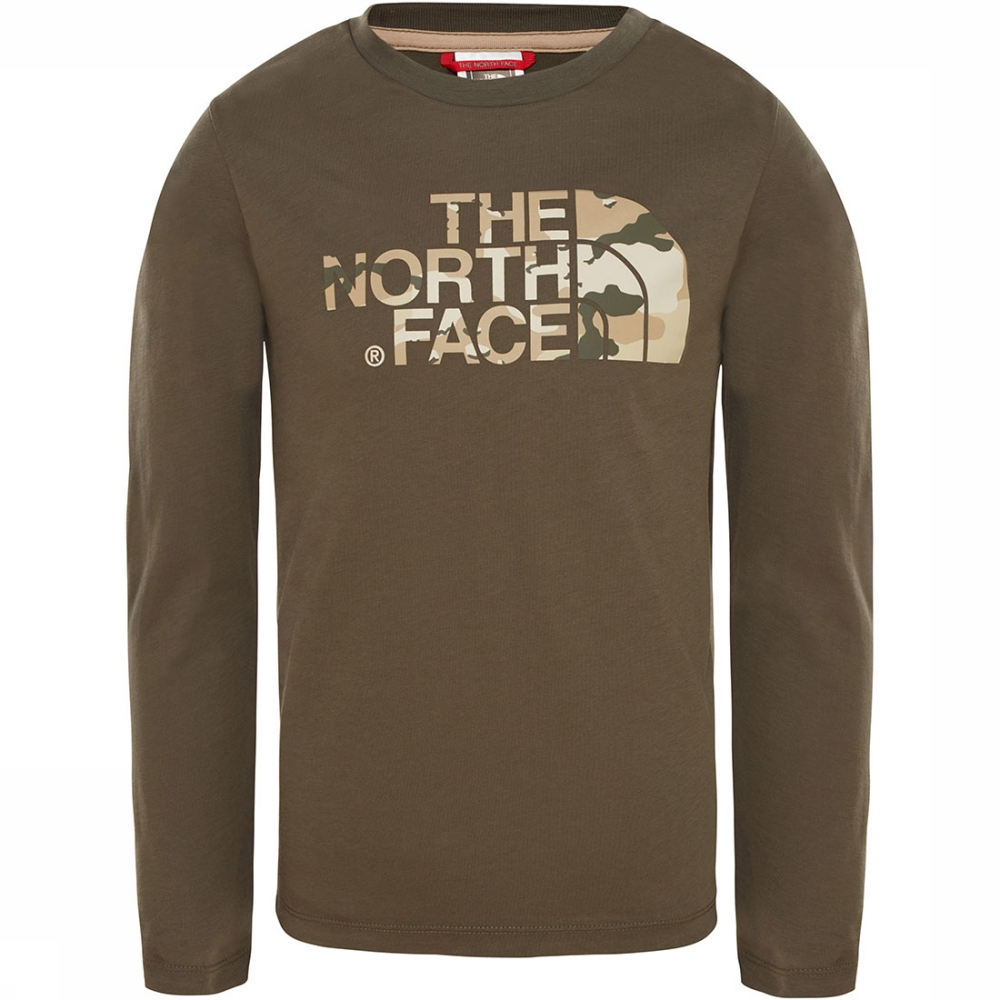 Afbeelding van The North Face Easy L/S Shirt Junior Groen