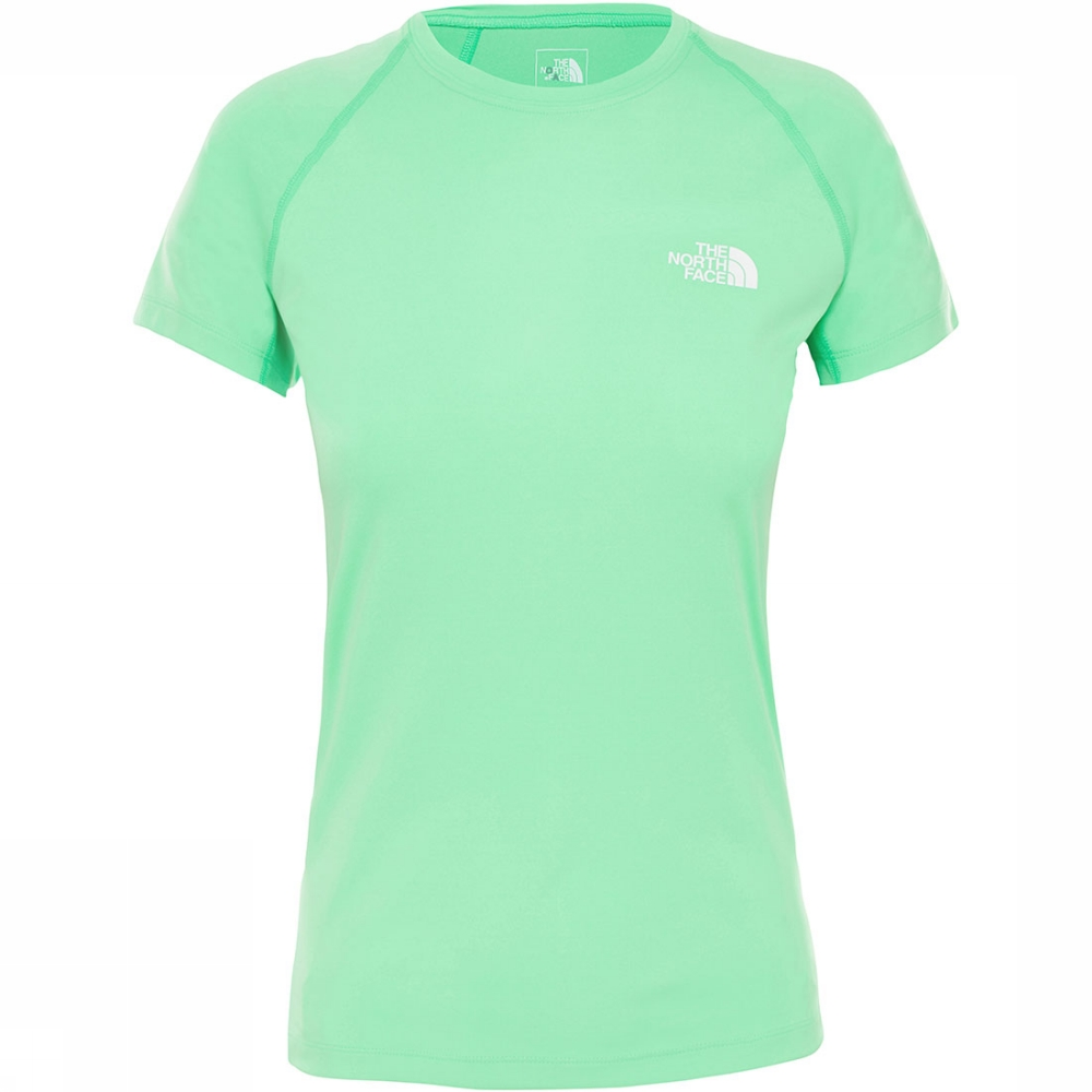 Afbeelding van The North Face Flex S/S Shirt Dames Groen