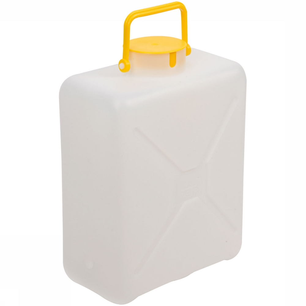 Afbeelding van Bo-Camp Can Grote Vulopening 13L Jerrycan Wit