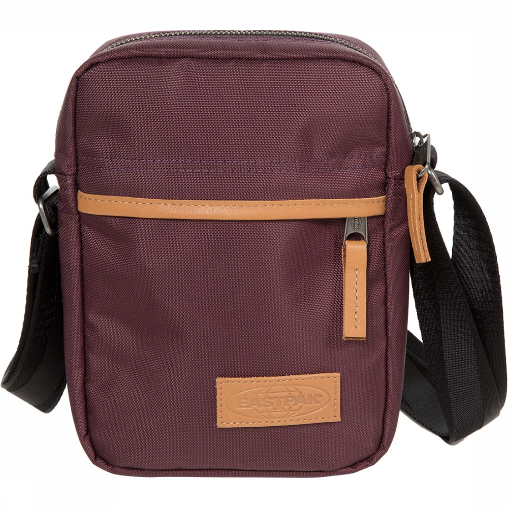 Eastpak The One crossbodytas bruin en rood