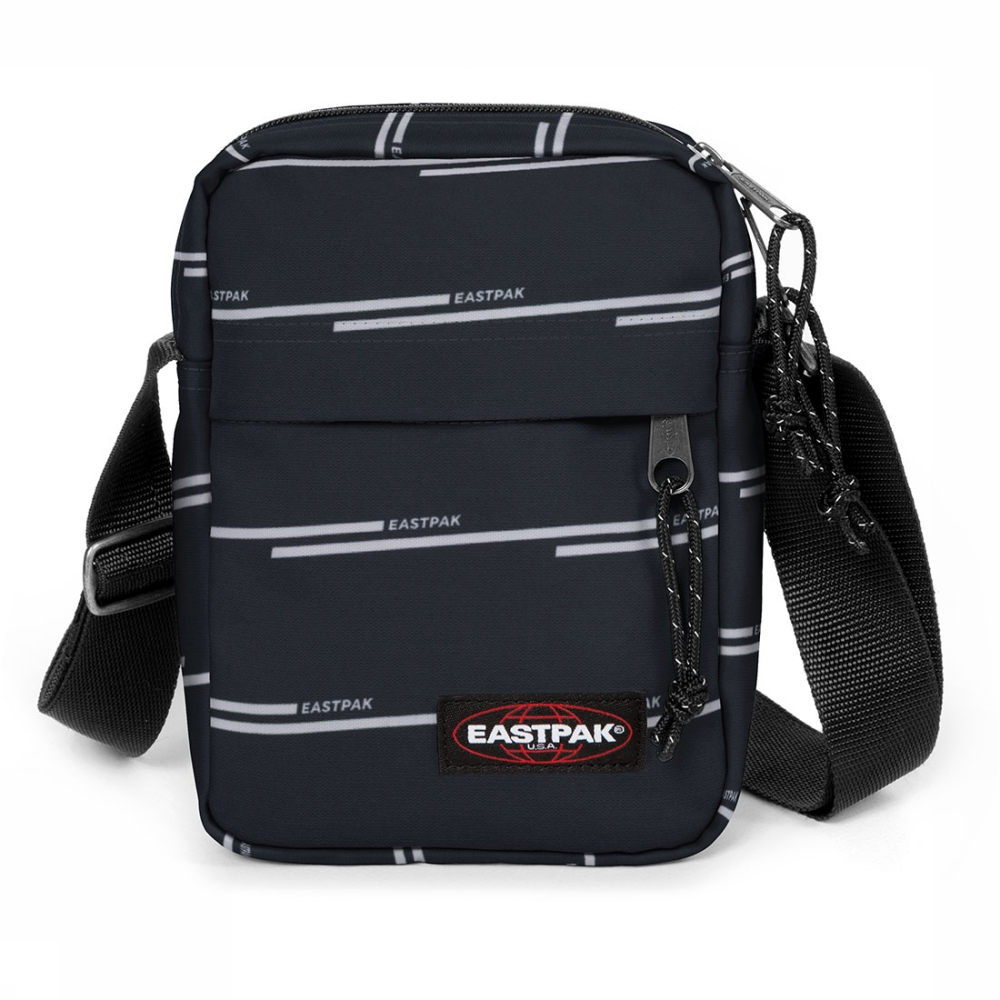 Eastpak The One crossbodytas zwart en wit
