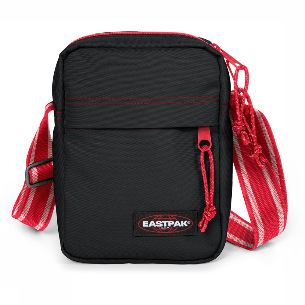 Eastpak The One crossbodytas zwart en rood