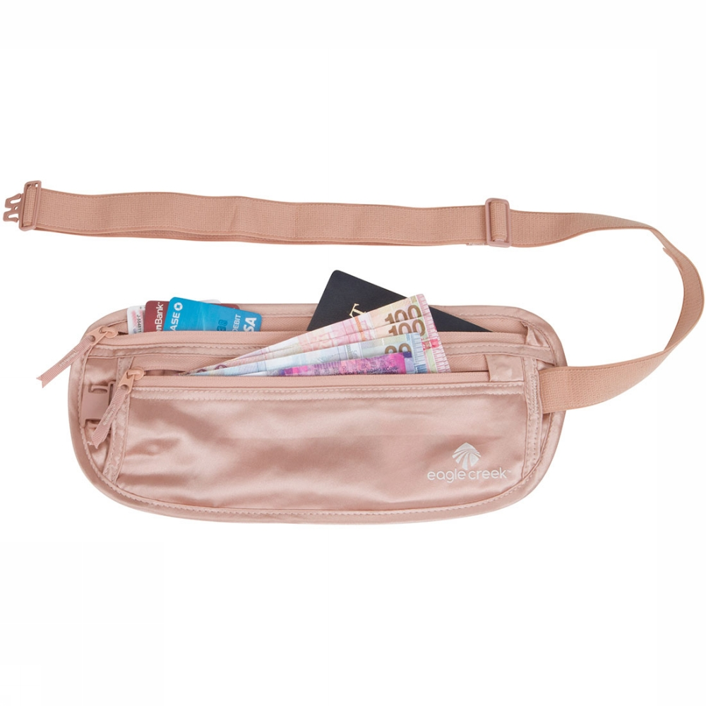 Afbeelding van Eagle Creek Silk Undercover Money Belt Roze