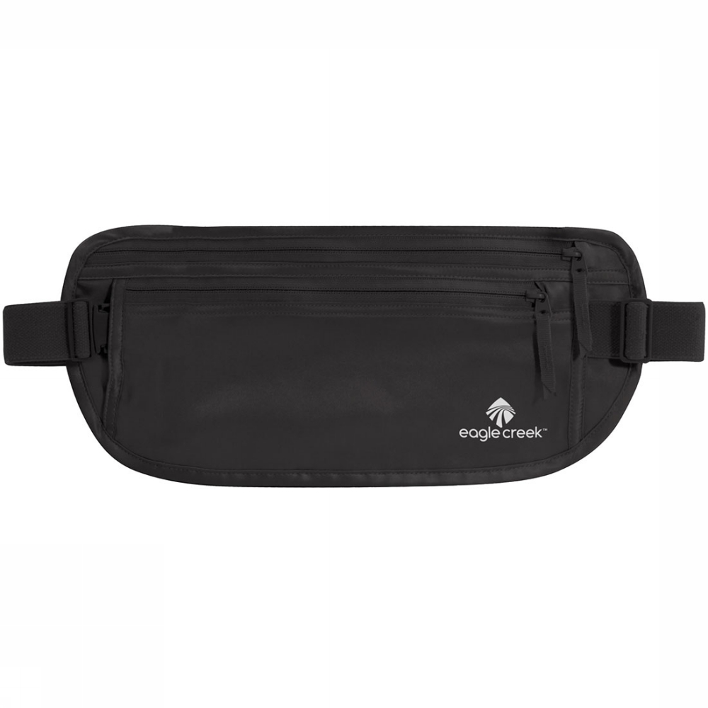 Afbeelding van Eagle Creek Silk Undercover Money Belt Zwart
